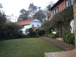 Guest House to Let on Lush Muthaiga Property near Gertrude's Hospital