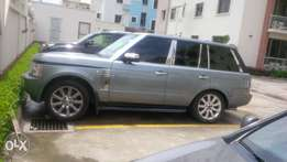 Super charged Range Rover