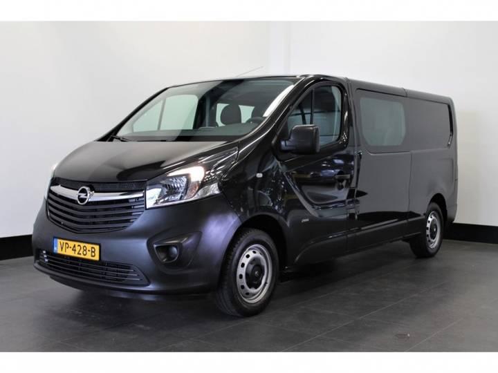 Opel Vivaro 1.6 CDTI L2H1 Dubbele cabine - Airco - Navi _ - 2015