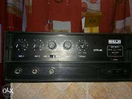 AHUJA UTR40 public address amplifier