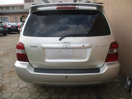 Toyota Highlander 2007 Model