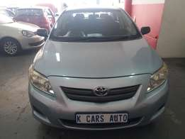 2010 Toyota Corolla Professional 1.3, with 97000Km
