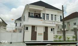 5 Bedroom Detached Duplex sitting on a half plot, Osapa London, Lekki