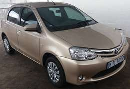 2015 Toyota Etios Hatch 1,5 Sprint 5door