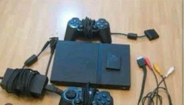 Memz,ps2,two pads,10 games free Nairobi CBD - image 1