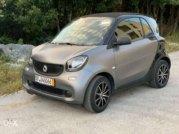 smart fortwo 2018! matt grey and black imp. from germany