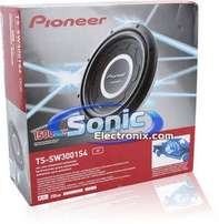 Pioneer TS W3001S4 ,12 inch Shallow Mount Subwoofer