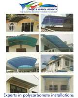 6mm polycarbonate sheets and installation