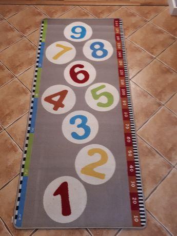 Dywan Dla Dzieci Cyferki 80x180 Dla Dzieci Cyfry Ikea