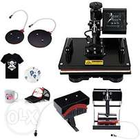 5 Combo T-shirt, Mug Heat Press with Digital Control Available