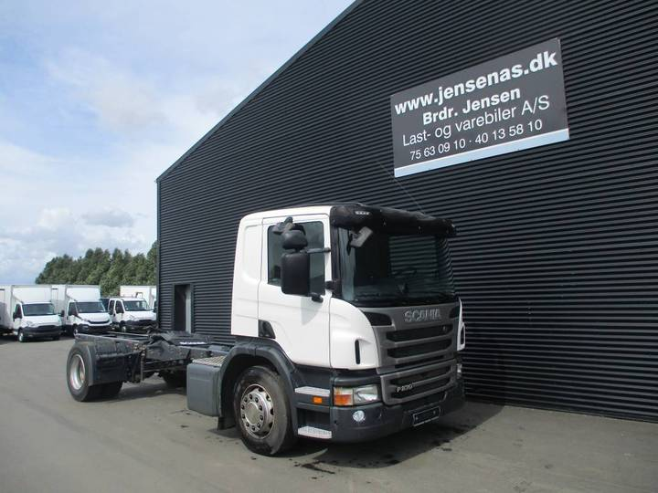 Scania P230 Chassis Aut, - 2013