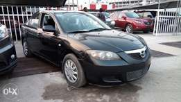 Smooth Driving Foreign Used 2007 Mazda 3 With Auto Fabric Cold AC