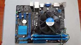 Asus 1155 Mobod Intel i5 3570K CPU and G Skill Ares 8gig Ram