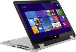 Hp envy 360 core i7 touch screen.