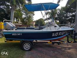 16.6 foot Wahoo with engines