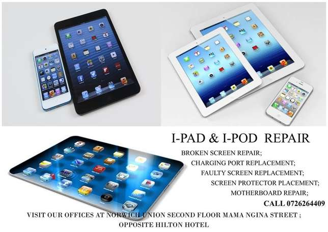 I-Pad and I-Pod Repair Nairobi CBD - image 1