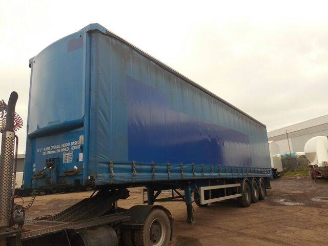 Sale s d c curtainside curtain side semi-trailer for  by auction - 2019