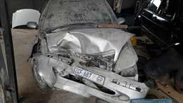 2002 accident damaged Merc A190 code 2 for sale or stripping for spare