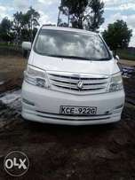 Toyota Alphard Fully loaded accident free original paint