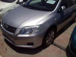 Silver Toyota Axio for sale