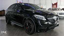 Mercedes benz GLE 63 AMG S