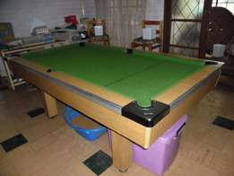 Pool table in excellent condition with accessories for sale