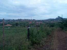 A class above plot(50x100ft) on sale in namugongo-jogo at 25m