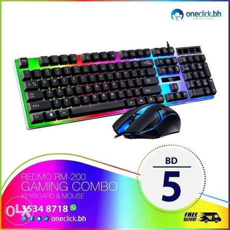 Redmo RM-200 Gaming Combo Keyboard And Mouse