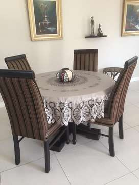 South Africa Dining Room Table And 4 Chairs