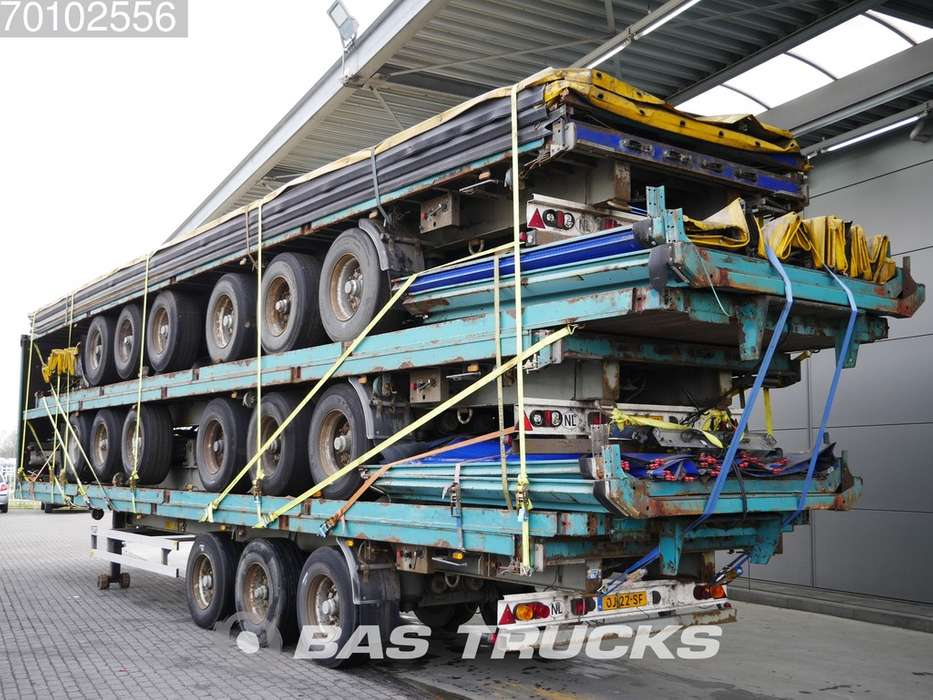 LAG 0-3-42 02 Stack of 5 Trailers BPW axles - 2007