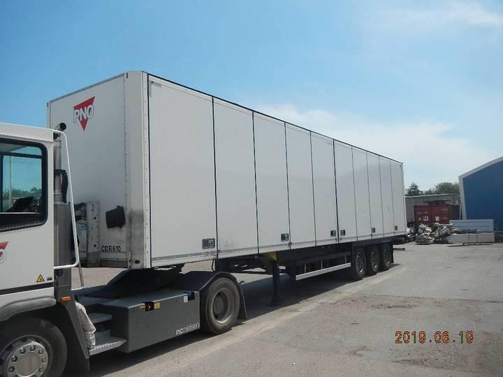Schmitz Cargobull Box Openside - Cdr 610 - 2015