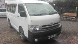 Toyota hiace 9l long super clean auto fresh import,petrol 2008