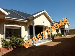 Immaculate 2 bedroom 2 baths house in Kisaasi town at 650k