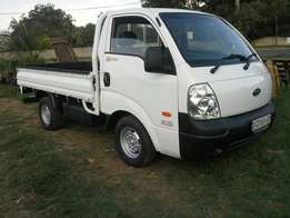 Kia Bakkie with cheapest prices For Hire