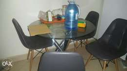 Leather chairs Dinning for sale