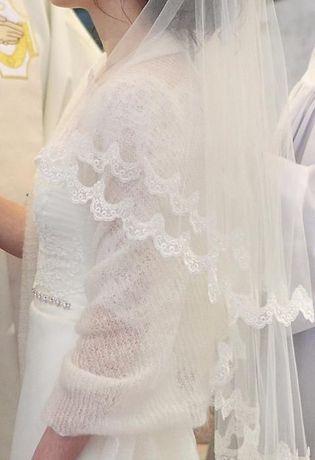 5ba8fb2840 Archiwalne  Suknia ślubna Elza z salonu Madonna Sochaczew • OLX.pl