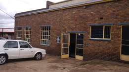 workshop in klipfontein 500msq situated in the busy industrial area