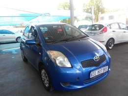 2008 Toyota yaris 1.3 +3 for sale for R85000