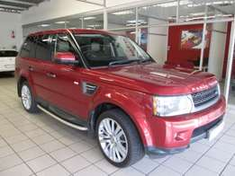 2011 Land Rover Range Rover Sport 3.0D HSE Lux Red 146,000km R 359,900