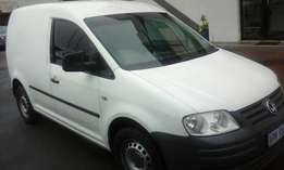 2009 VW Caddy 1.6 with a/c