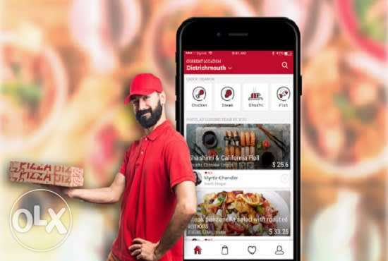 we develop a food delivery app, grocery app, ubereat app