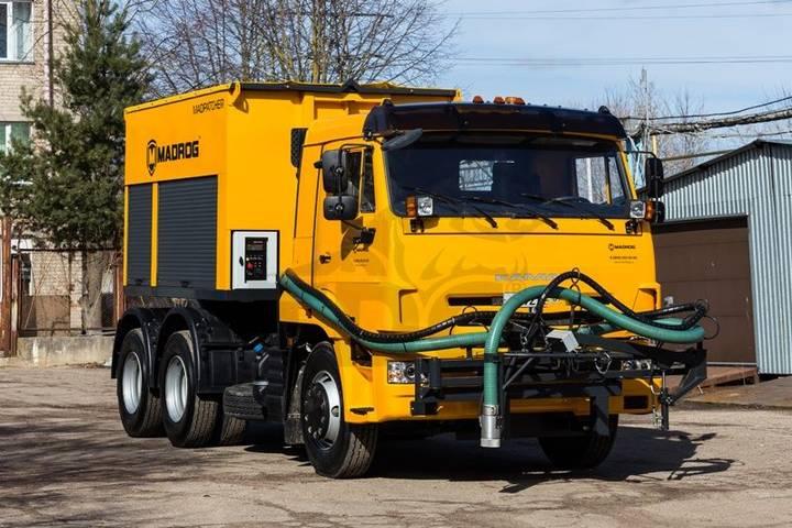 MADROG MPA 6.5W asphalt recycler
