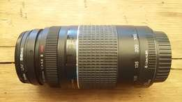 Canon EF 75-300mm f/4-5.6 III lens for Canon SLR Cameras