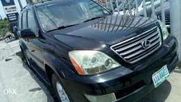 Sparkling full option 2006 Lexus GX470 with active auxiliaryl