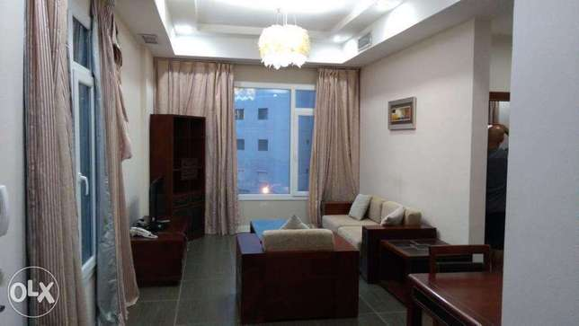 Sea view furnished 2 bedroom in mahboula.