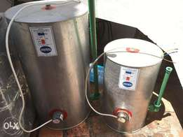 Hot-water tanks x2