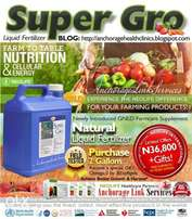 Order for 24 Gallons of Super Gro to Support Farmers in Nigeria