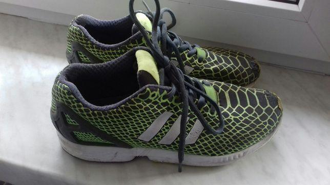 Super cena! Adidas ZX Flux zielone czarne 25 cm 40 Bochnia