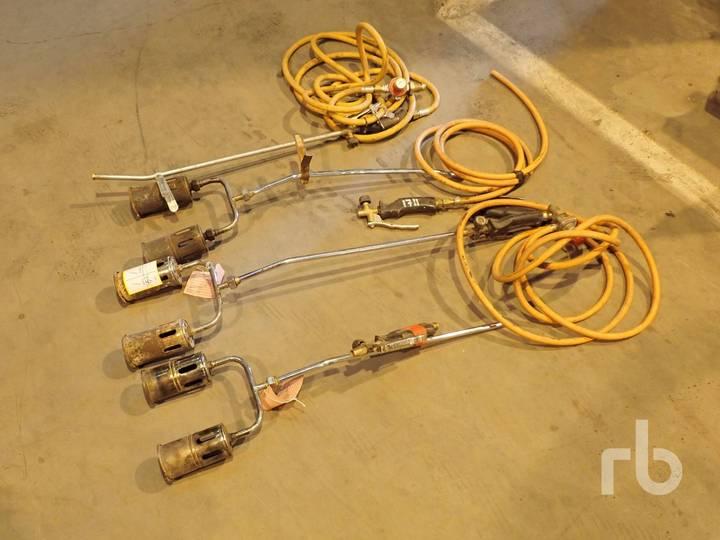 Qty of 4 Gas Torch Burners
