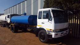 Nissan UD80. 10000l Honey Sucker (Vacuum Truck)